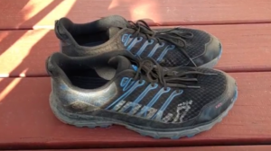 Inov-8 race ultra 290 shoes after a hundred or so miles