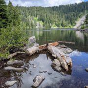 Mason Lake From I-90 Via Ira Spring Memorial Trail